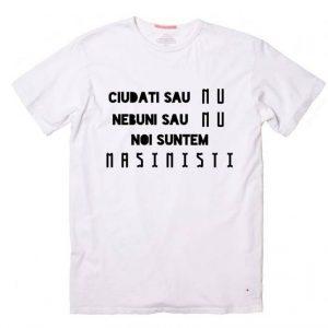 Tricou 'Noi suntem masinisti'