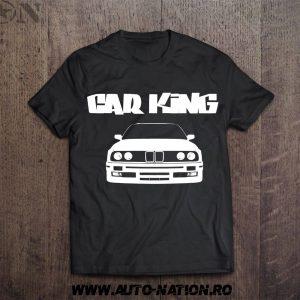 Set Tricouri Car KING – QUEEN Bmw E30