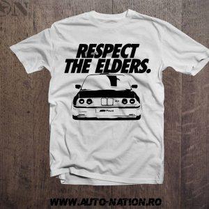 Tricou BMW E30 Respect The Elders
