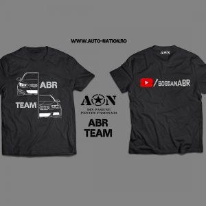 Tricou Negru ABR Team