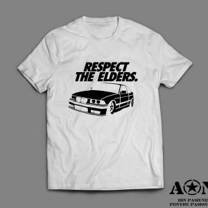 Tricou BMW E36 Respect Your Elders