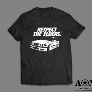 Tricou BMW E36 Respect Your Elders