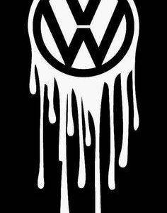 Sticker Dripping VW