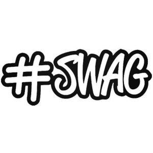Sticker #SWAG